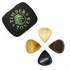 Jazz Tones Groove Mixed Tin of 4 Guitar Picks